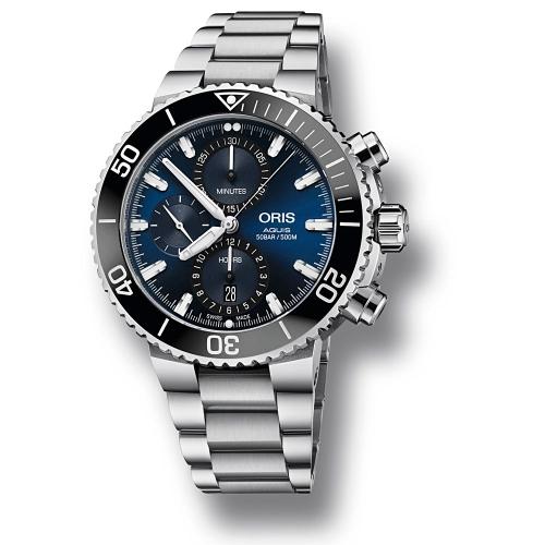Reloj Oris Aquis Chronograph 01 774 7743 4155-07 8 24 05PEB  - 1