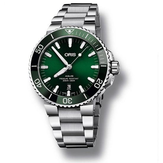 Reloj Oris Aquis Date - 01 733 7730 4157-07 8 24 05PEB  - 1