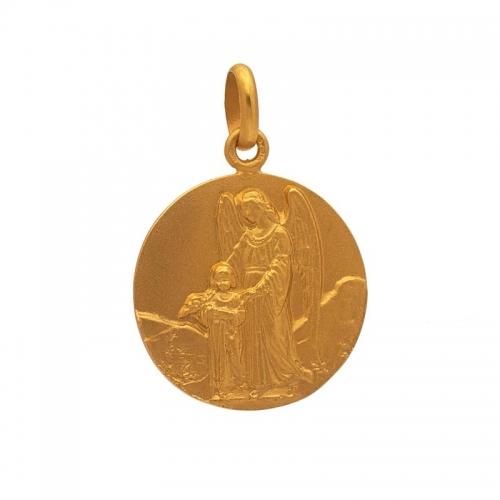 Medalla con imagen del Ángel de la Guarda  - 1